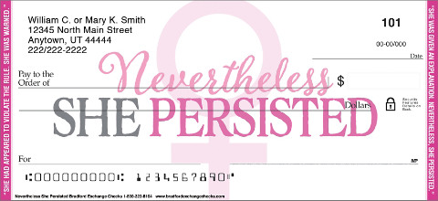 Support the Fight for Women's Rights with these Empowering Checks
