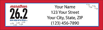 Marathon Return Address Label