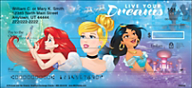 Dreams are Always Within Reach with These Disney Princess Characters Checks