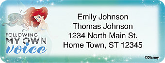A Princess and Her Dreams Return Address Label