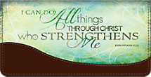Stay Spiritually Strong While Keeping Checks Safe with this Inspirational Cover