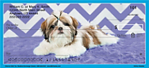 For the Love of Fluff! Flaunt Your Shih Tzu Love with this Fun Check Design