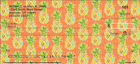 Start a Sweet Checking Sensation with Trendy Pineapple Designs