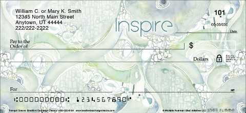 These Inspirational Checks Use Petal Power to Generate Spiritual Well-Being