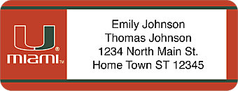 University of Miami® Address Labels