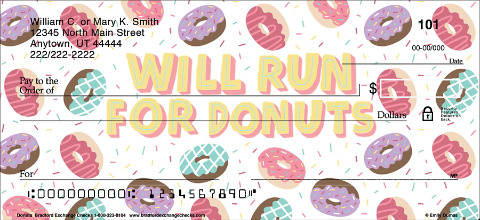 Sprinkle a Little Fun Around with Super Sweet Donut Check Designs