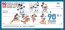 Celebrate 90 Years of Magic with Checks for Disney Fans of All Ages