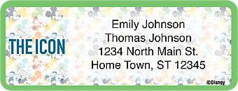 Mickey Mouse - The True Original  Address Labels
