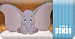 Disney's® Dumbo Leather Checkbook Cover