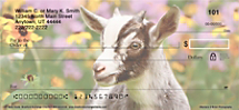 Jump into the Goat Loving Craze with these Check Designs