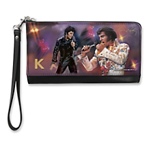 Bring Some Personalized Fashion Along with this Exciting Elvis™ Wristlet!
