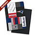 New England Patriots NFL Patchwork Refillable Journal