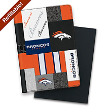 Every Thought is a Touchdown with This Patchwork Football Notebook
