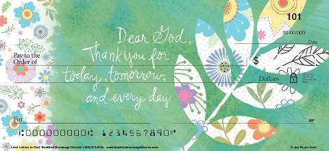 Heavenly Messages are Elegantly Delivered on these Peaceful Check Designs