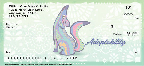 Honor the Beauty of Alebrijes Folk Art with These Symbolic Personal Checks