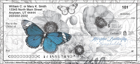 Beautiful Pollinators Add a Touch of Color to These Artistic Check Designs