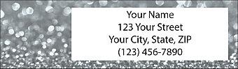 Sparkle & Shine Return Address Label
