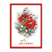 Poinsettias Personalized Holiday Cards