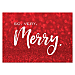 Very Merry Personalized Holiday Cards
