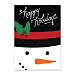 Snowman Personalized Holiday Cards