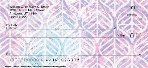 The Beauty of Bohemian Style in Personal Check Form
