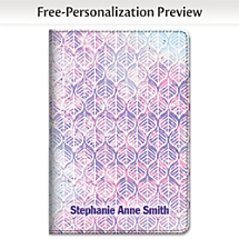 Express Yourself with a Bohemian Style Batik Patterned Notebook