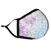 Show Free-Spirited Artistic Flair While Being Safe with Batik Inspired Fabric Face Mask