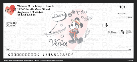 These Checks Will Send You Across the World with Mickey Mouse