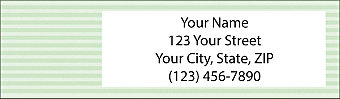 Basic Colors Return Address Label