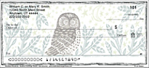 Showcase Your Love of Hand Artistry and Woodland Critters with these Checks