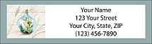 Inspire Others with Beautiful Terrarium Themed Address Labels