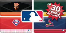 Choose From 30  MLB Teams Checkbook Cover