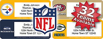 Choose From 32 NFL Teams
