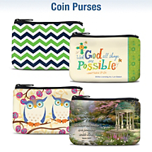 Choose From Over 30 Coin Purses
