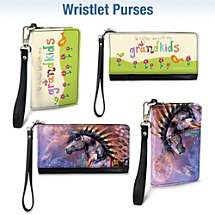 Choose From Over 30 Large & Small Wristlet Purses