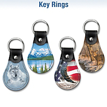 Choose Your Favorite Leather Key Ring