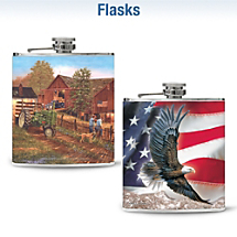 Choose Your Favorite Leather Flask