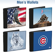 More Men's Wallet Designs Available