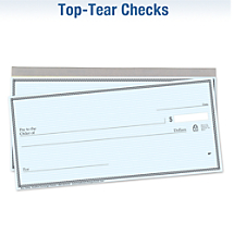 Choose Your Favorite Top-Tear Checks