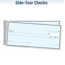 Choose Your Favorite Side-Tear Check
