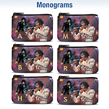 Remembering Elvis Monogram Coin Purse