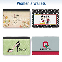 More Women's Wallet Designs Available