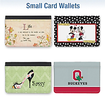 More Small Card Wallet Designs Available
