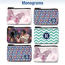 Monogram Coin Purses