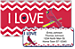 I Love the Cardinals Chevron Bonus Buy